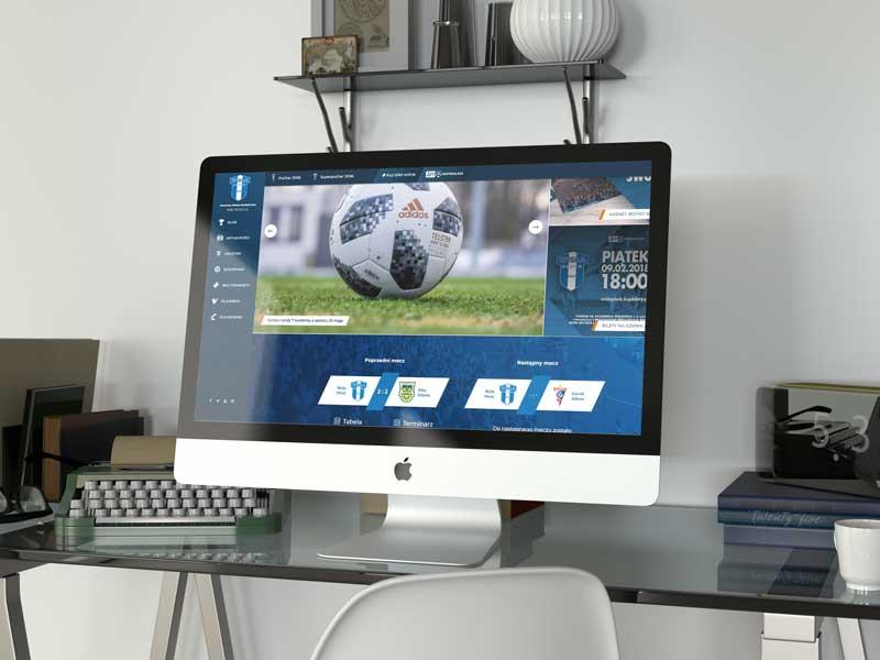 Agencja Reklamowa InfraCOM - nowa strona WWW dla Wisły Płock S.A.